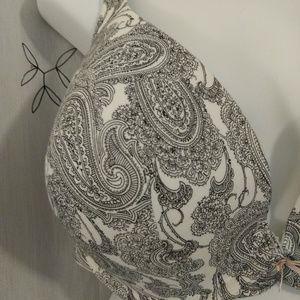 Cacique Intimates & Sleepwear - Cacique Lane Bryant Cotton Boost Plunge 40G bra